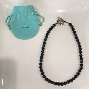Tiffany & Co Black Onyx Necklace